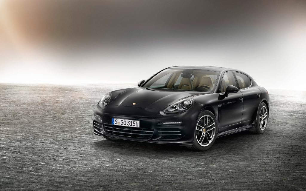Porsche Panamera Widescreen Wallpaper