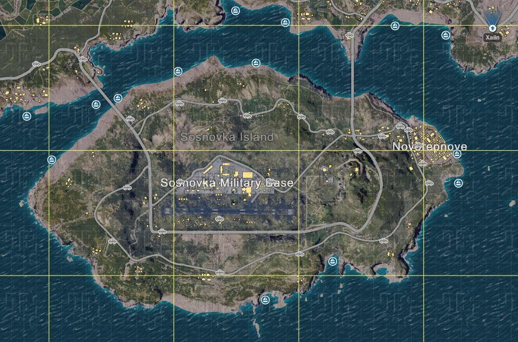 Playerunknown S Battlegrounds Maps Loot Maps Pictures: PLAYERUNKNOWN'S BATTLEGROUNDS Maps & Loot Maps, Pictures