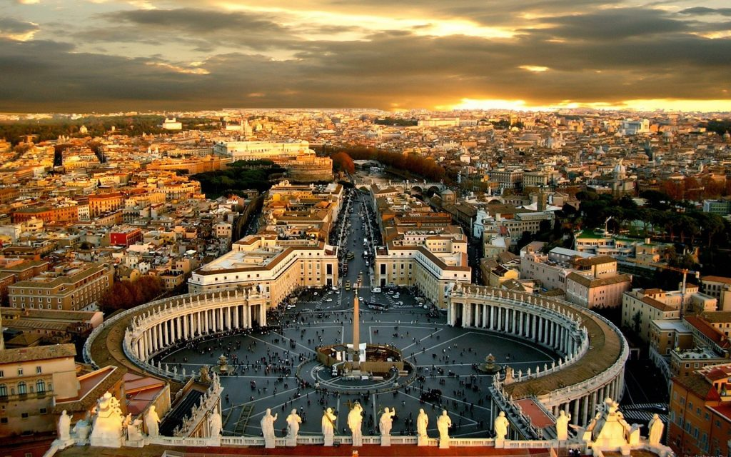 Rome Widescreen Background