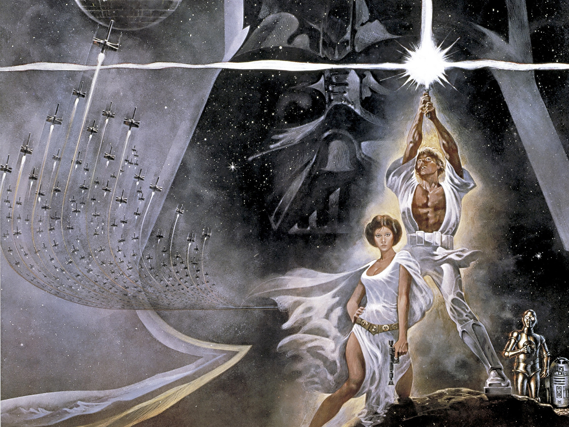 Star wars episode iv a new hope wallpapers pictures images - Star wars wallpaper ...