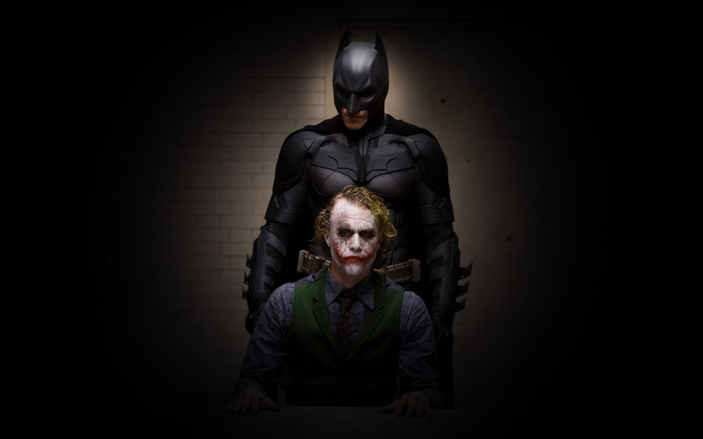 The Dark Knight Widescreen Background