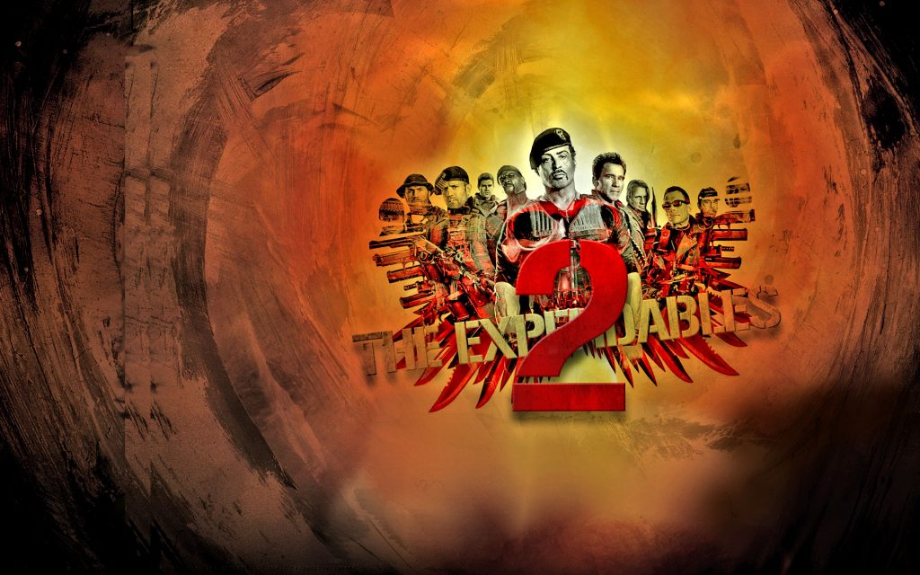 The Expendables 2 Widescreen Wallpaper