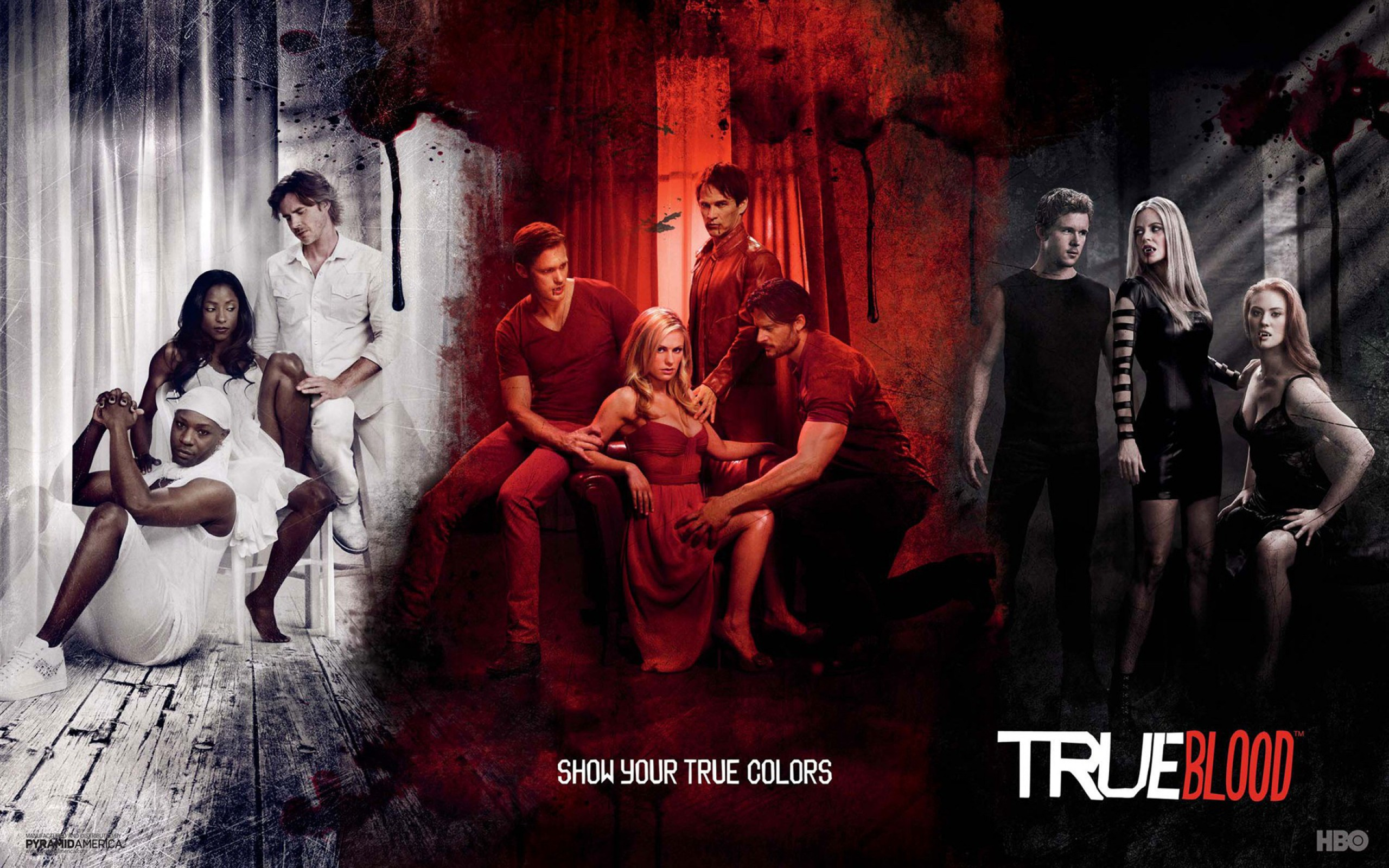 Real Blood Love Wallpaper : True Blood Wallpapers, Pictures, Images