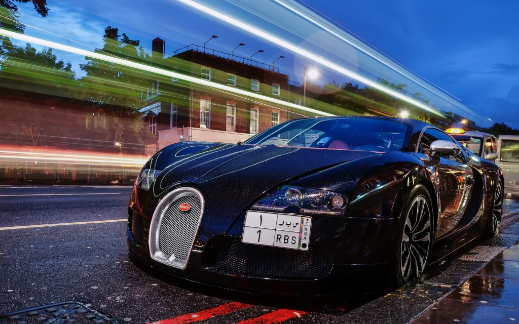 Bugatti Veyron Widescreen Wallpaper