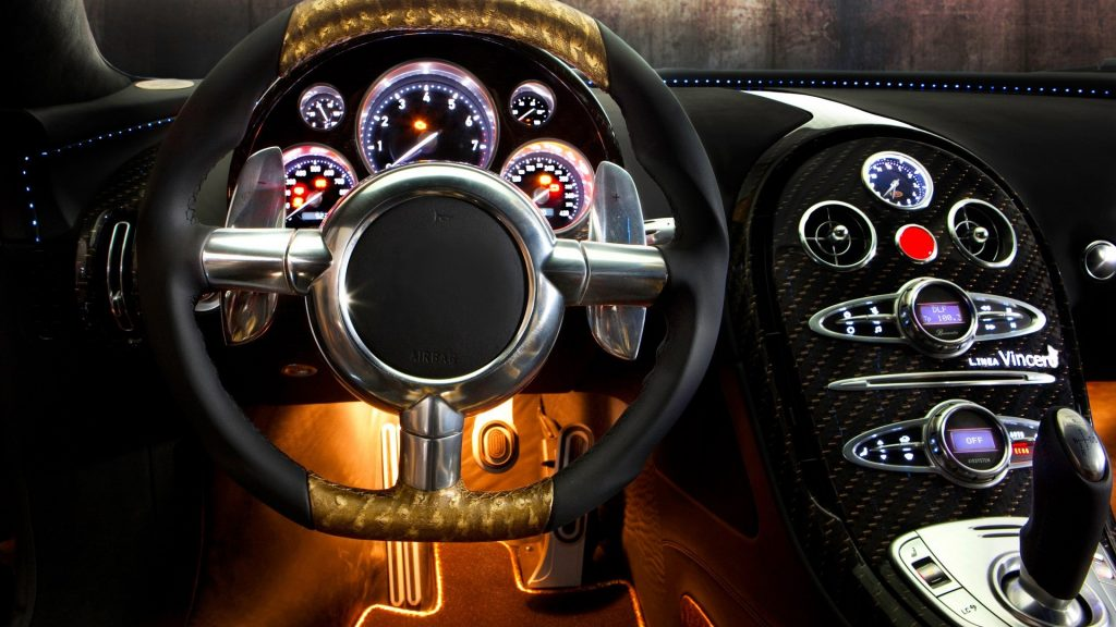 Bugatti Veyron Full HD Wallpaper
