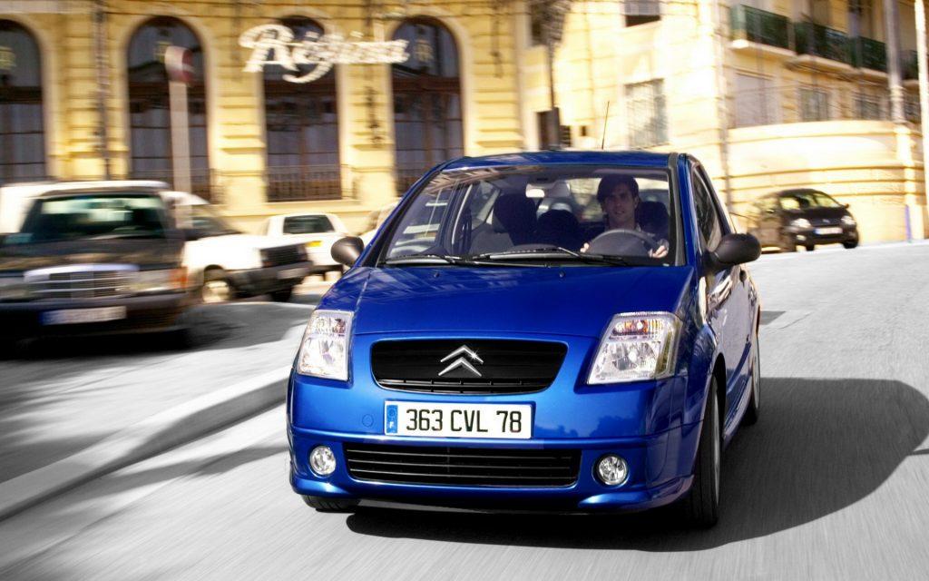 Citroën Widescreen Wallpaper