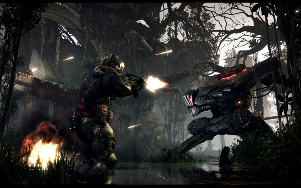 Crysis 3 Widescreen Wallpaper