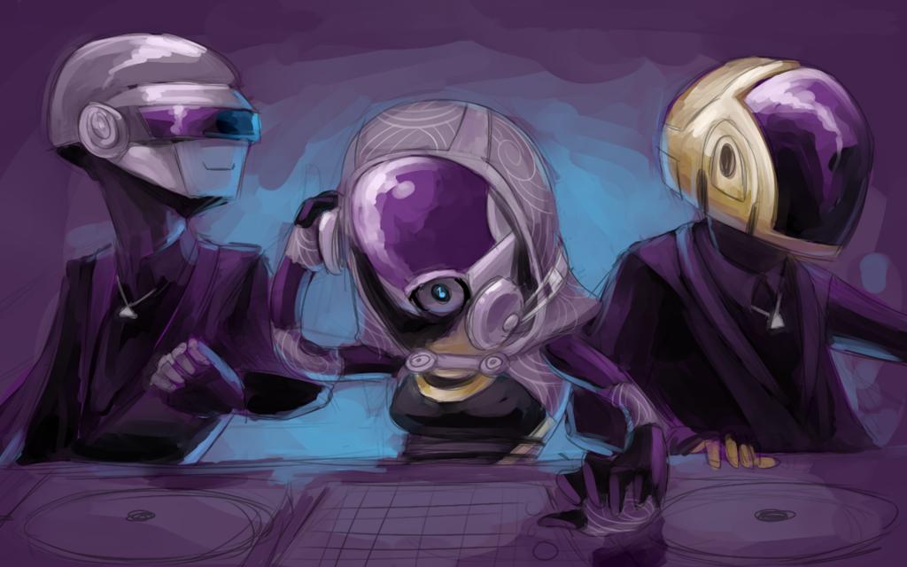 Daft Punk Widescreen Wallpaper