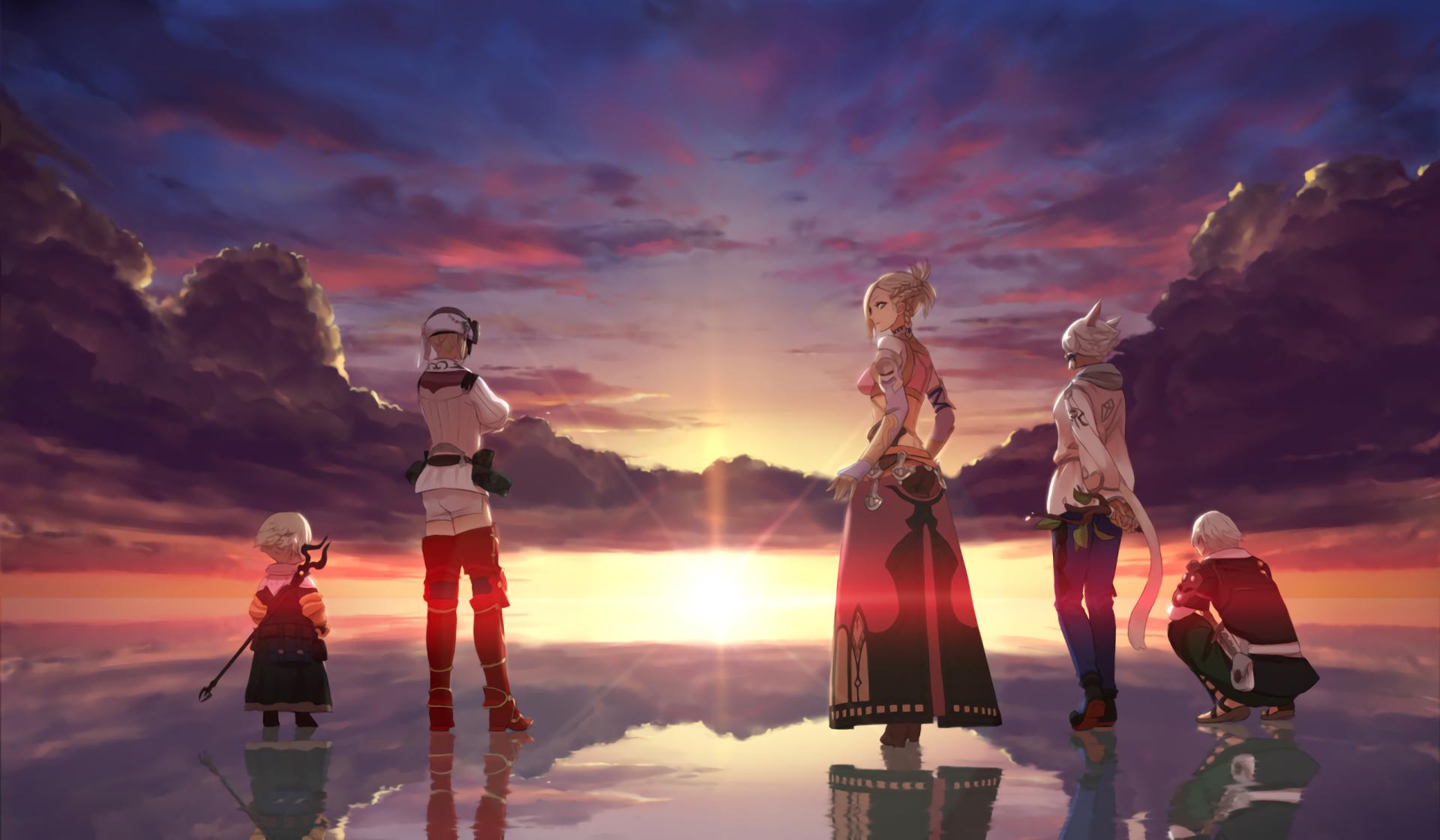 Final Fantasy XIV Wall...