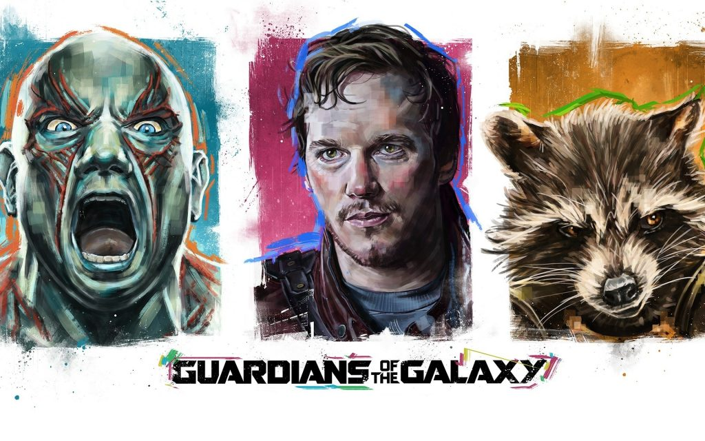 Guardians Of The Galaxy Widescreen Wallpaper