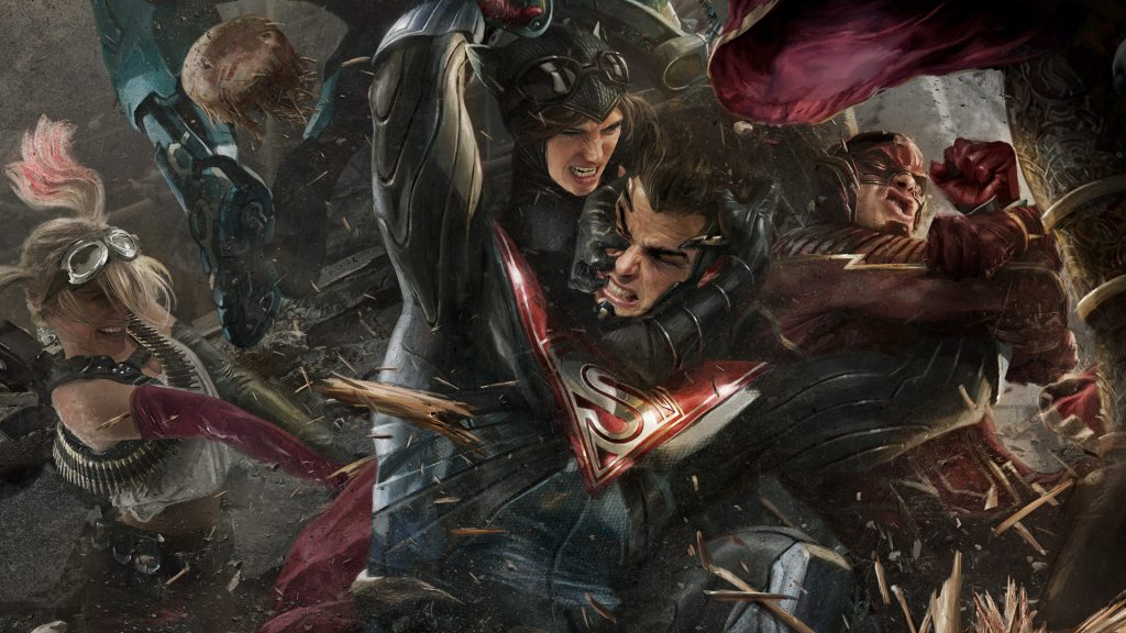 Wallpaper Full Hd Carros 11 1024 576: Injustice 2 Wallpapers, Pictures, Images