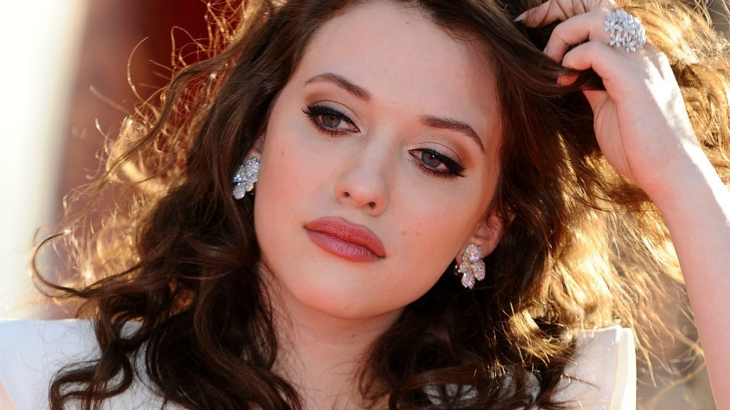 Kat Dennings Full HD Wallpaper