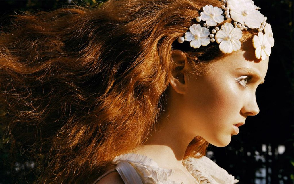 Lily Cole Widescreen Wallpaper