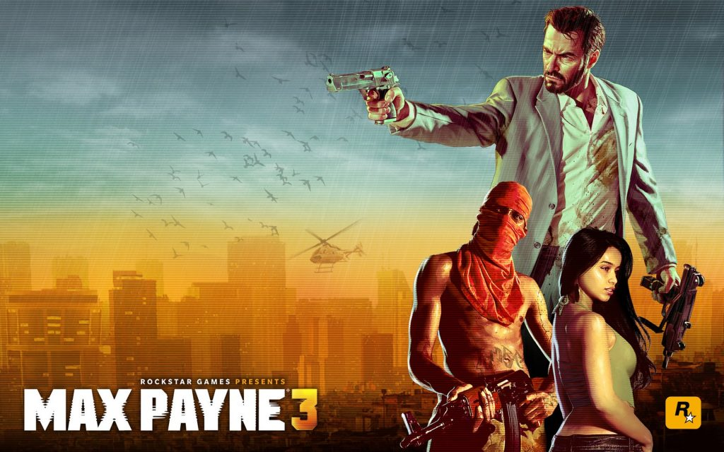 Max Payne 3 Widescreen Wallpaper