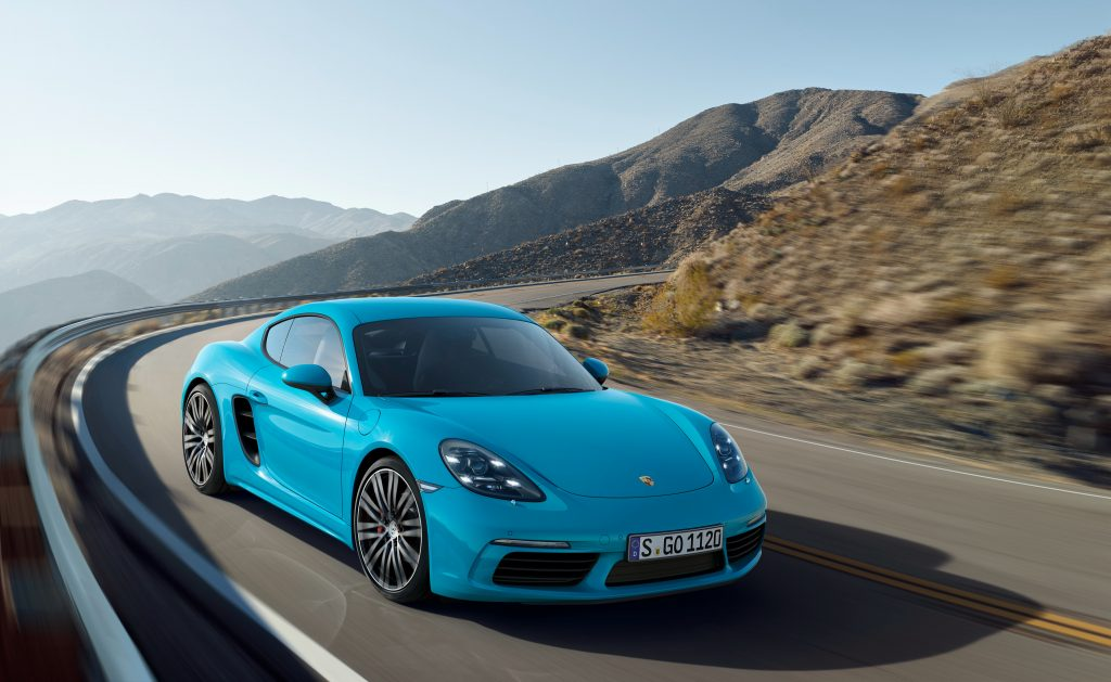 Porsche Cayman S Wallpaper