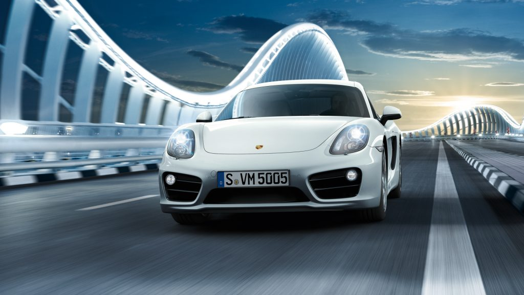Porsche Cayman S Full HD Wallpaper