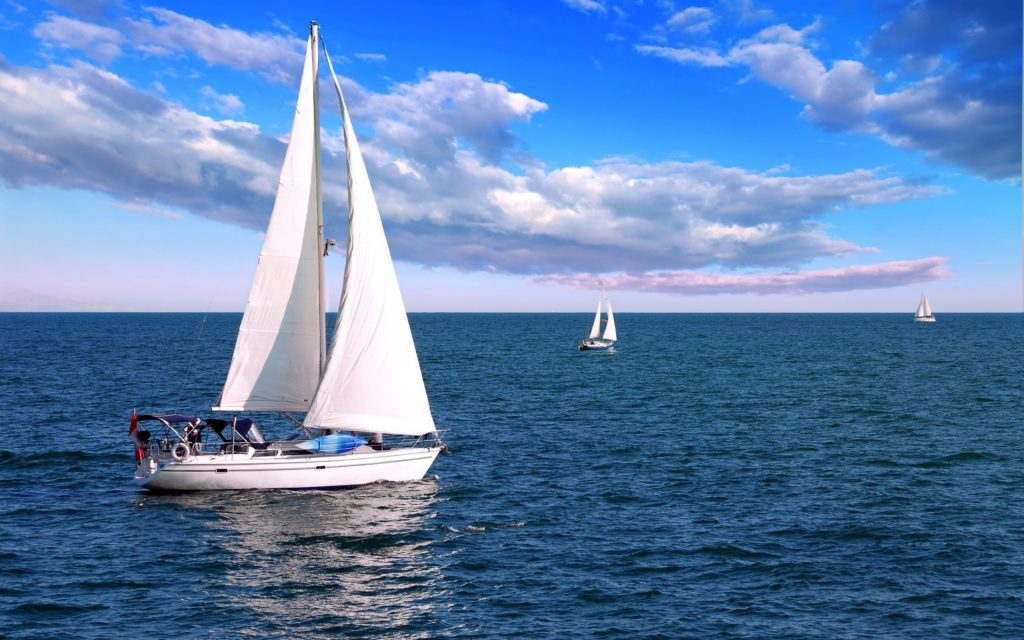 Sailboat Widescreen Wallpaper
