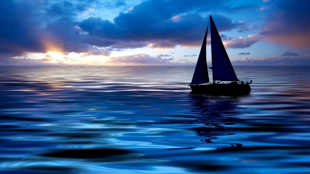 Sailboat Full HD Wallpaper