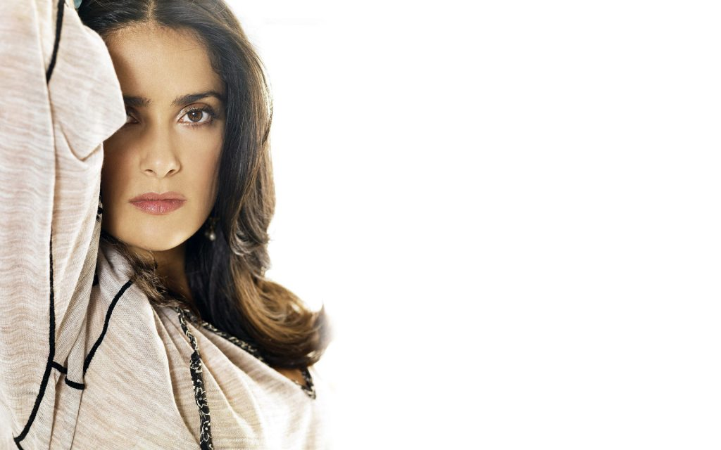 Salma Hayek Widescreen Wallpaper