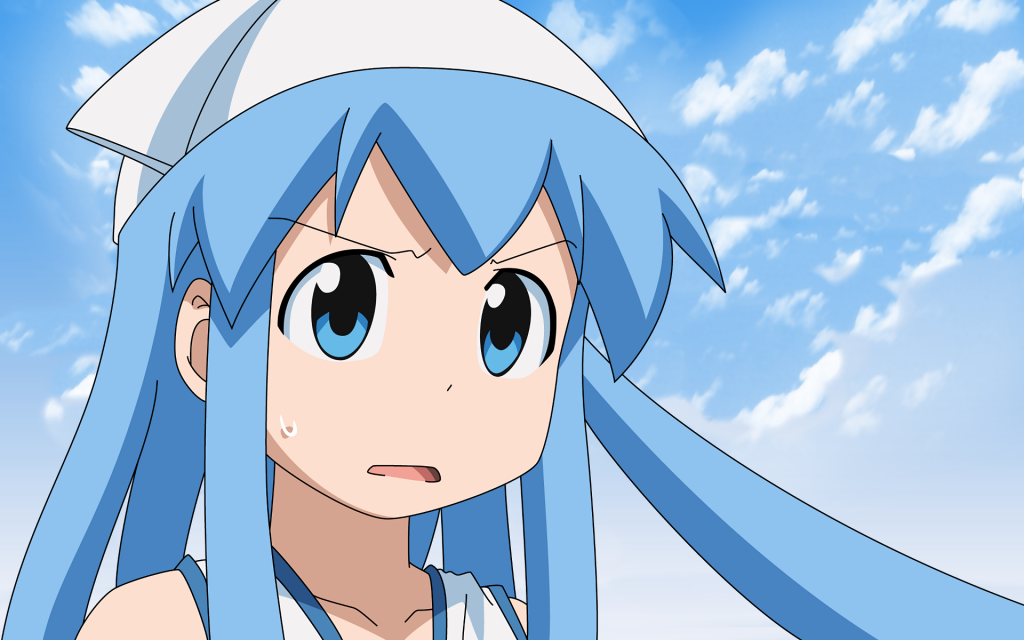 Squid Girl Widescreen Wallpaper