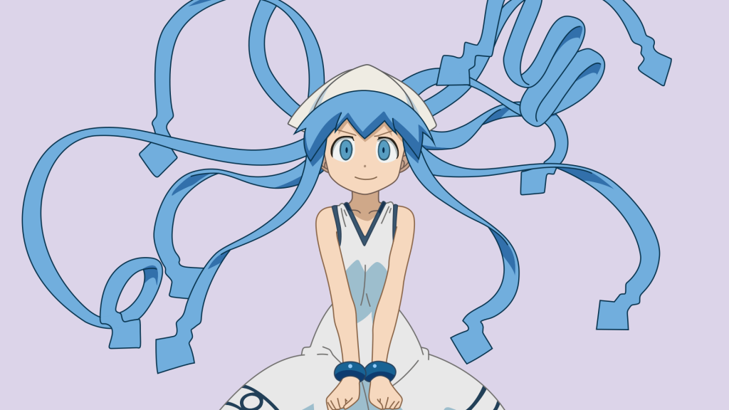 Squid Girl Full HD Wallpaper