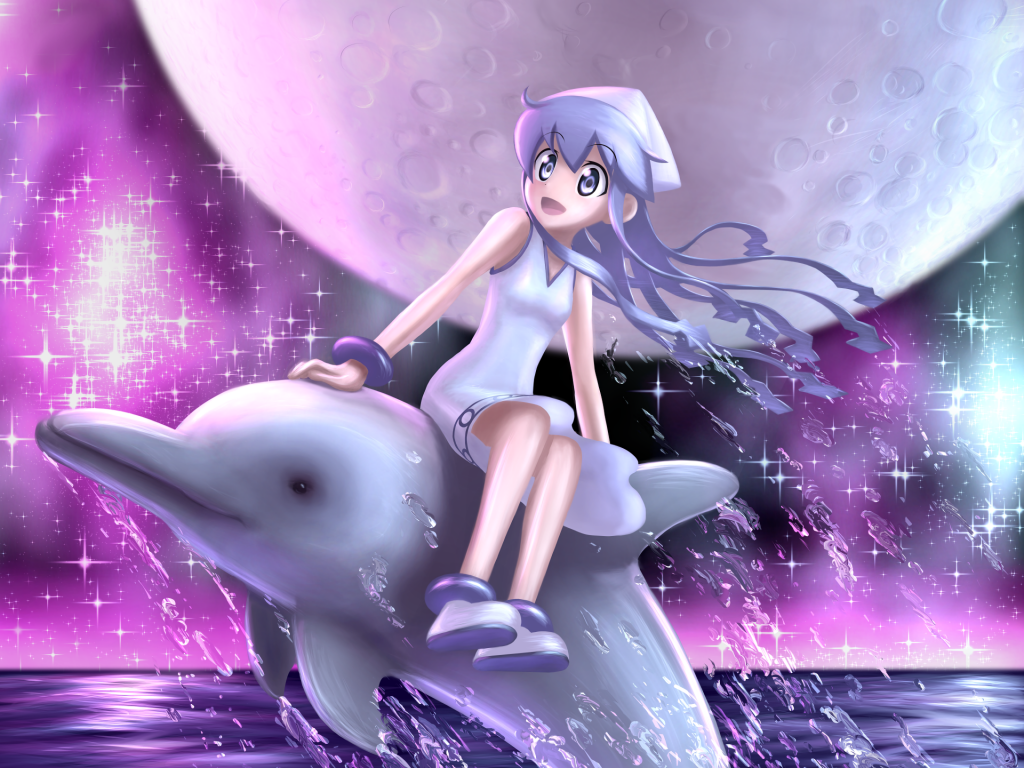 Squid Girl Wallpaper