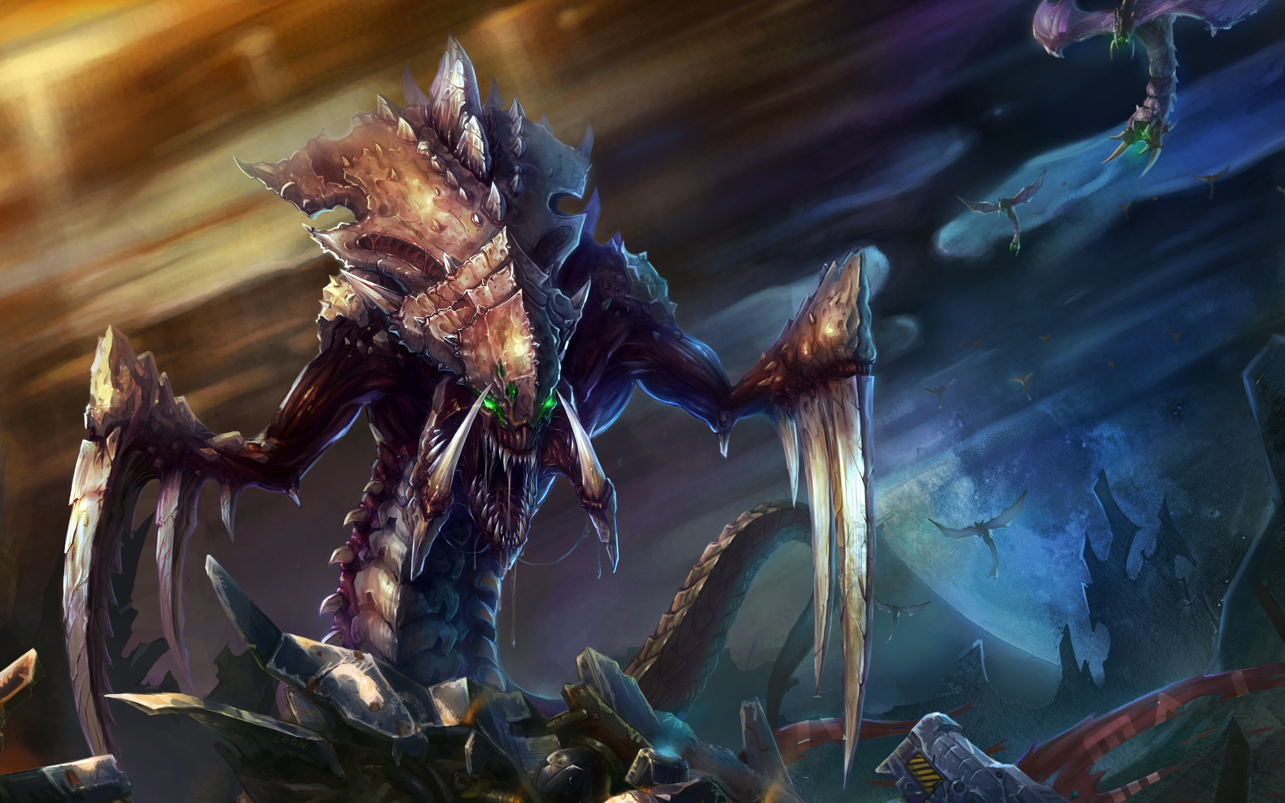 Starcraft wallpapers pictures images - Zerg wallpaper ...