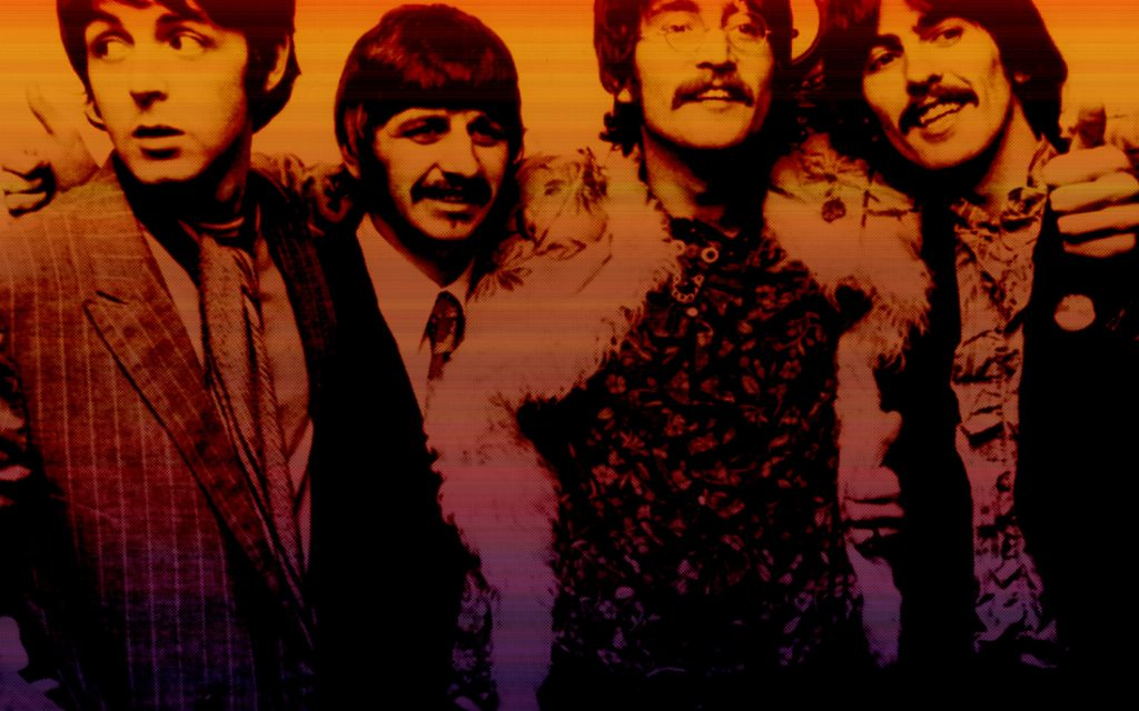 The Beatles Widescreen Wallpaper