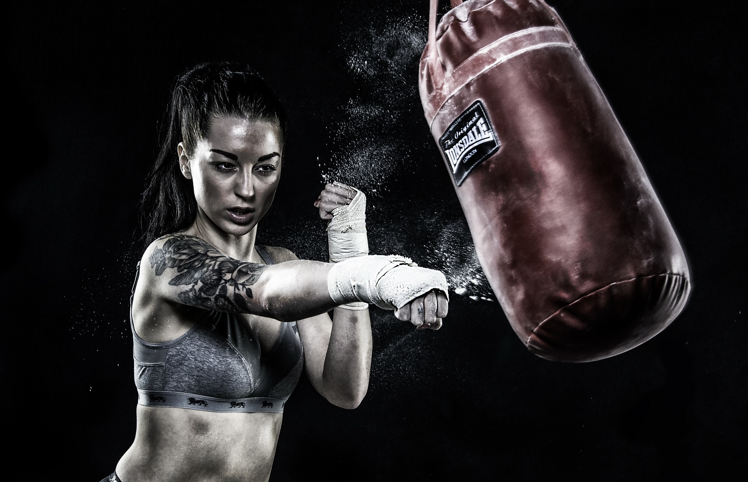 Kickboxing wallpaper women