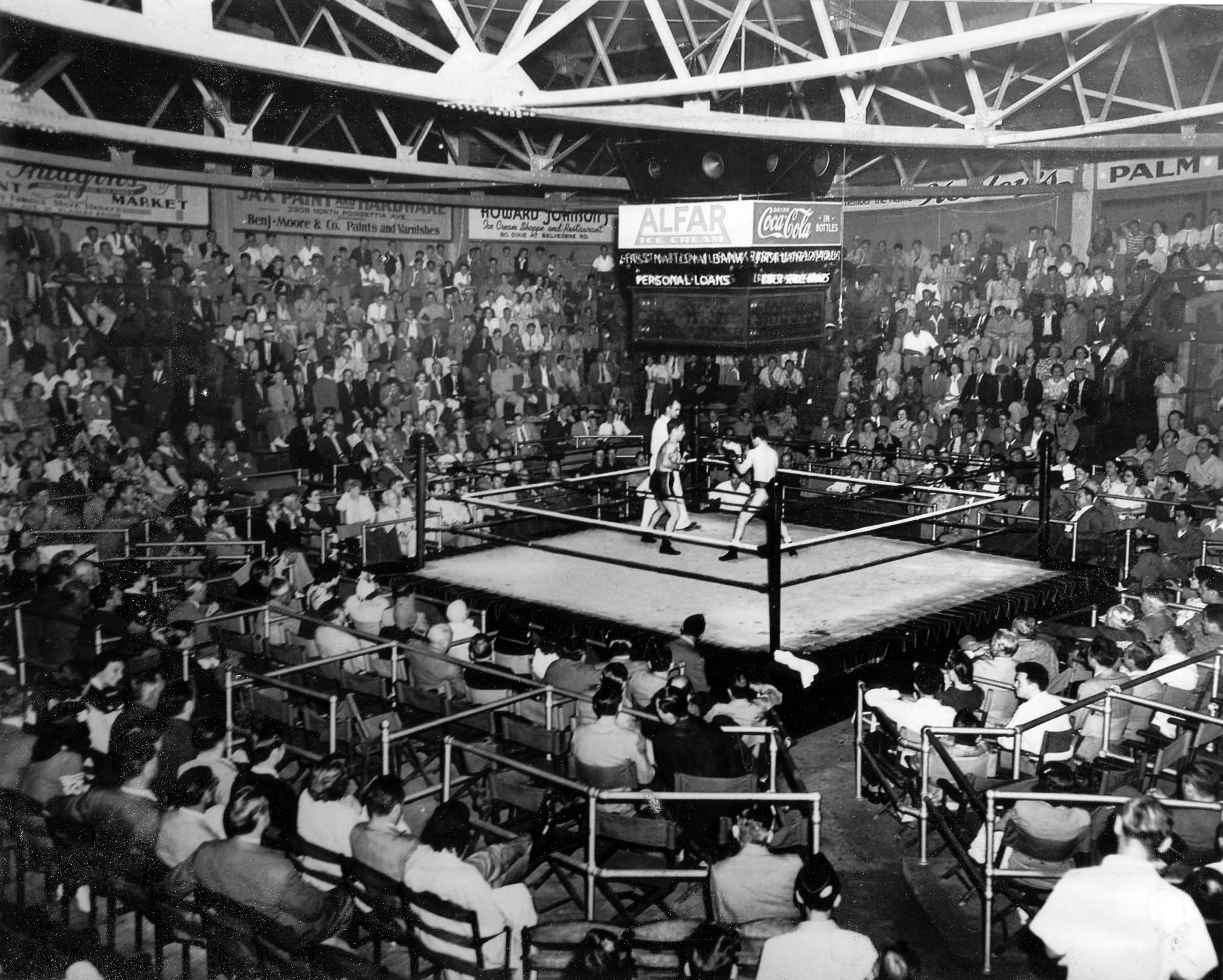Boxing match wallpaper