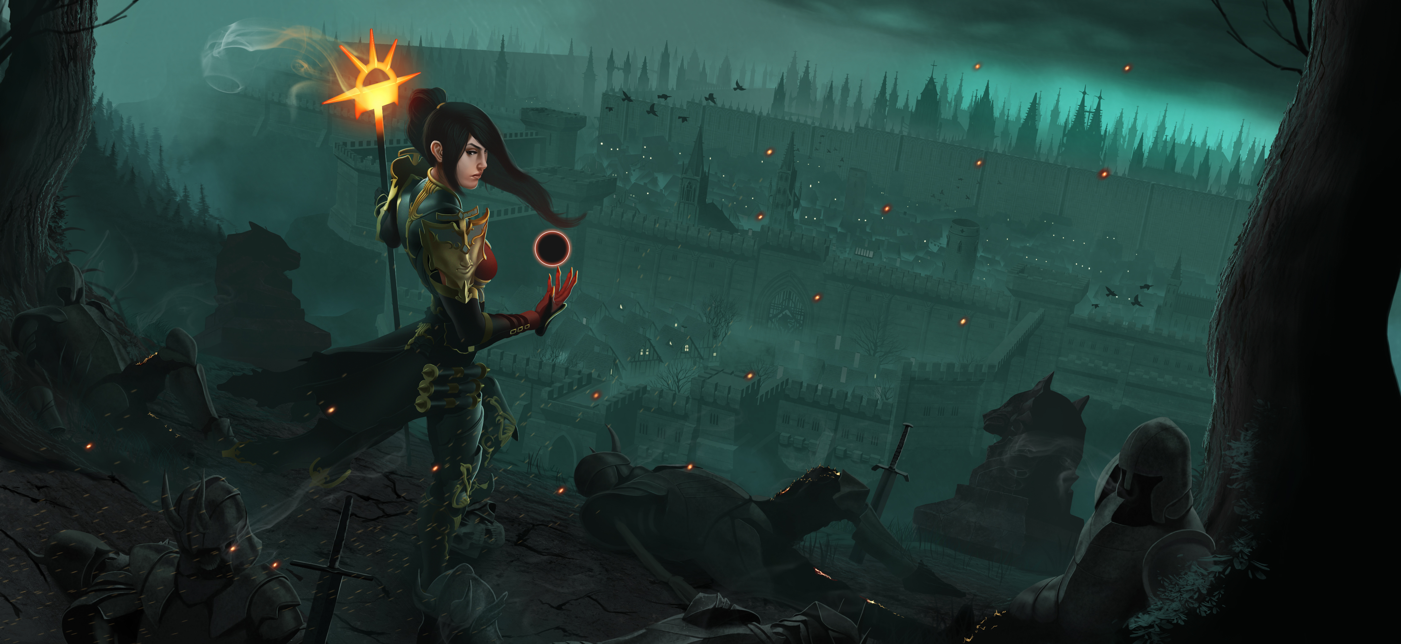 Fantasy Wizard Background 1 Hd Wallpapers: Diablo III Wallpapers, Pictures, Images