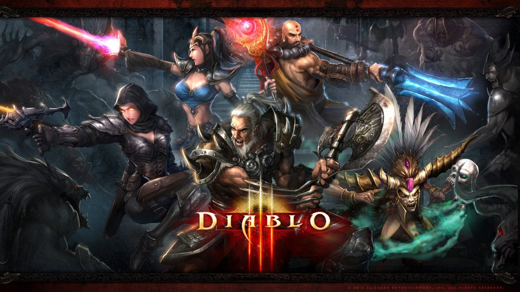 Diablo III Full HD Wallpaper
