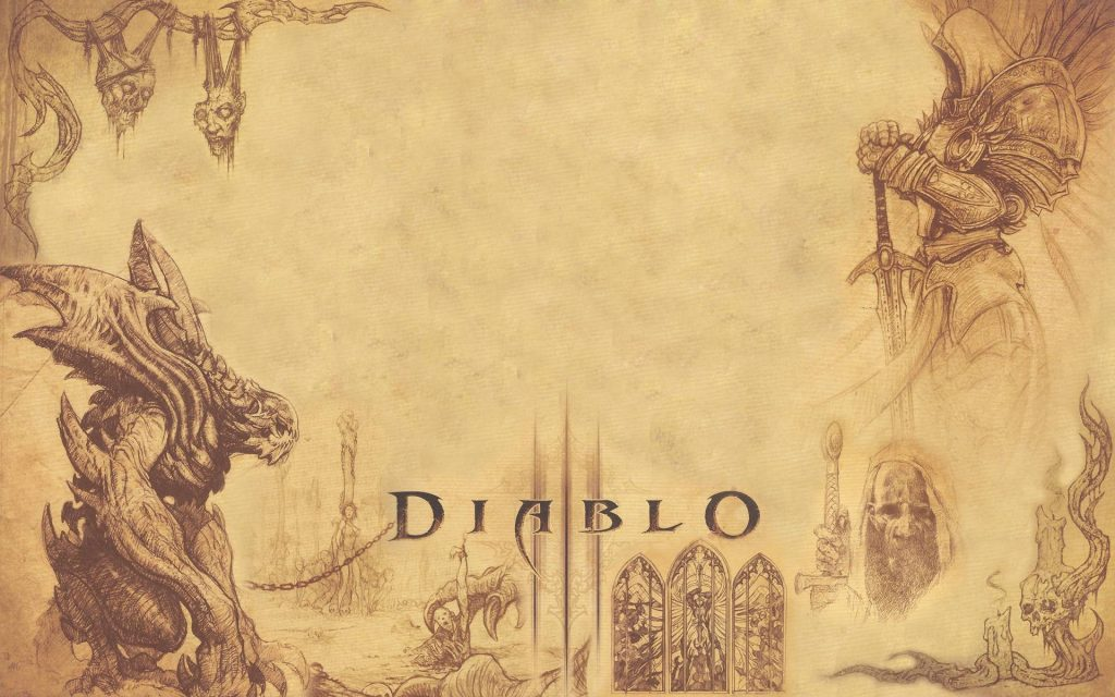 Diablo III Widescreen Wallpaper