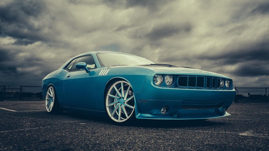 Dodge Challenger Full HD Wallpaper