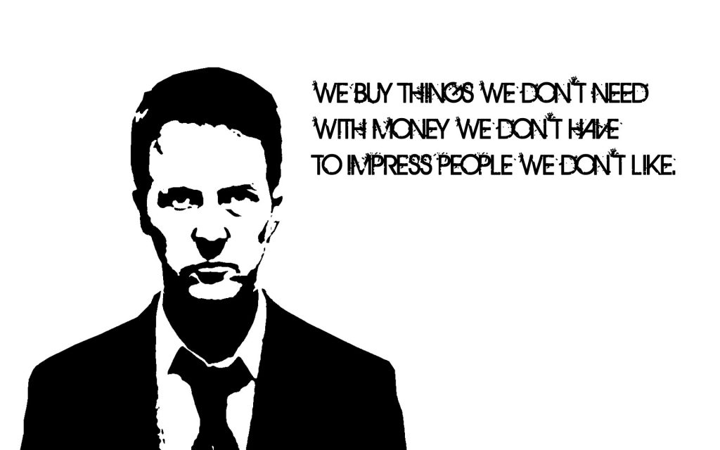 Fight Club Widescreen Wallpaper