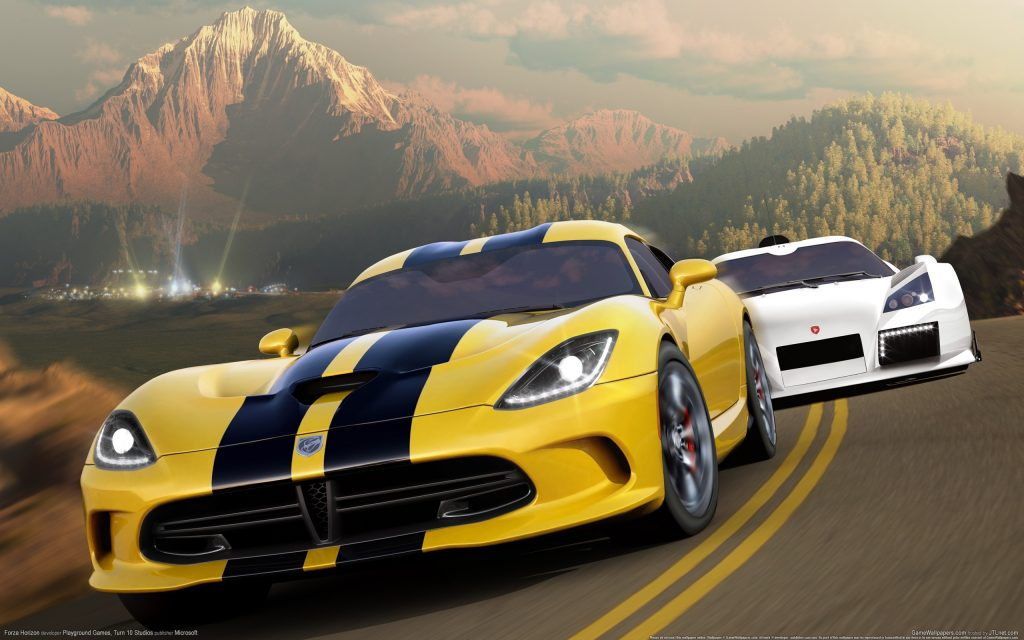 Forza Horizon Widescreen Wallpaper