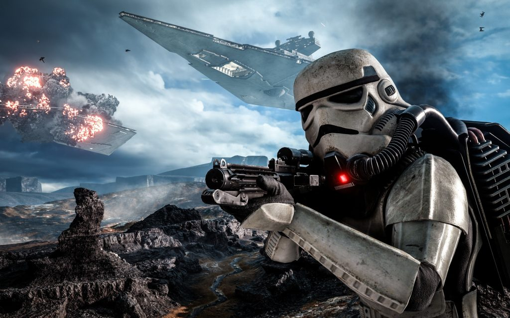 Star Wars Battlefront (2015) Widescreen Background