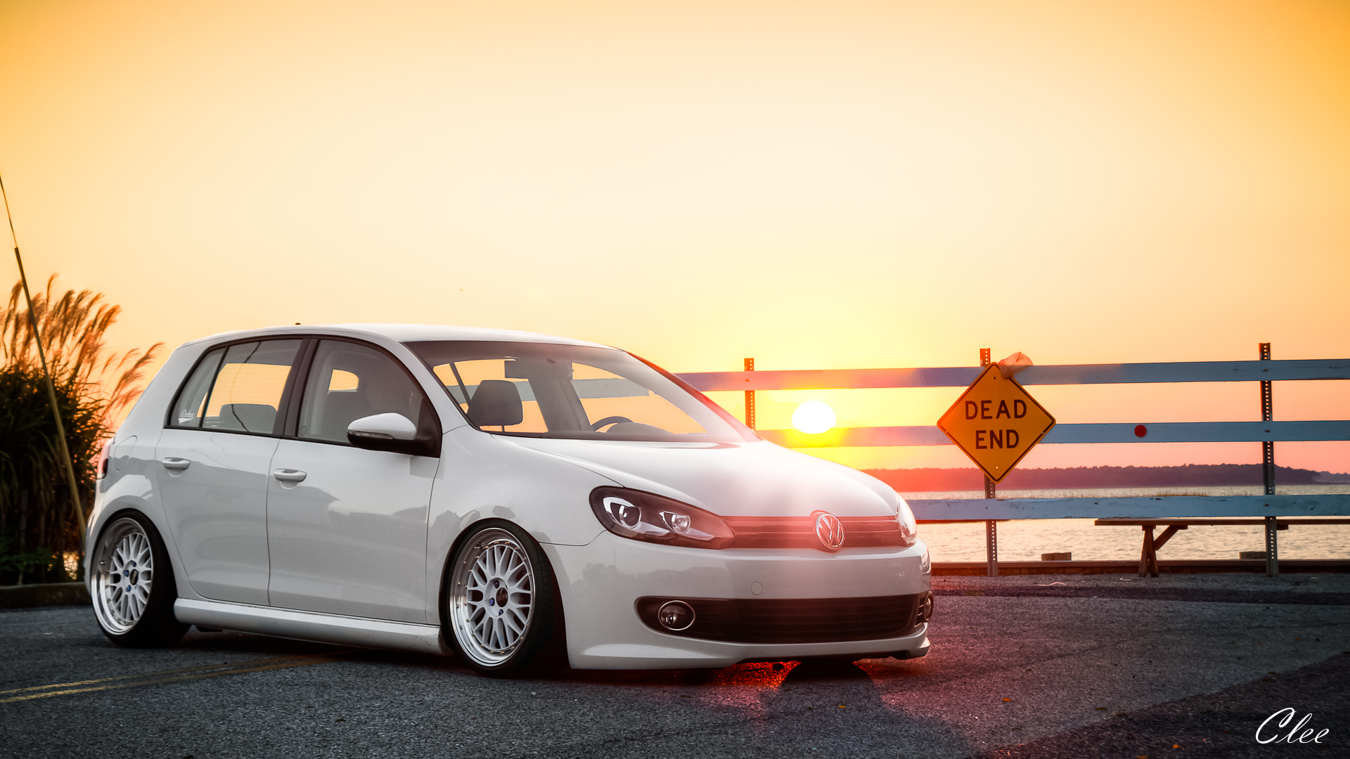 Volkswagen Golf Full HD Wallpaper 1920x1080
