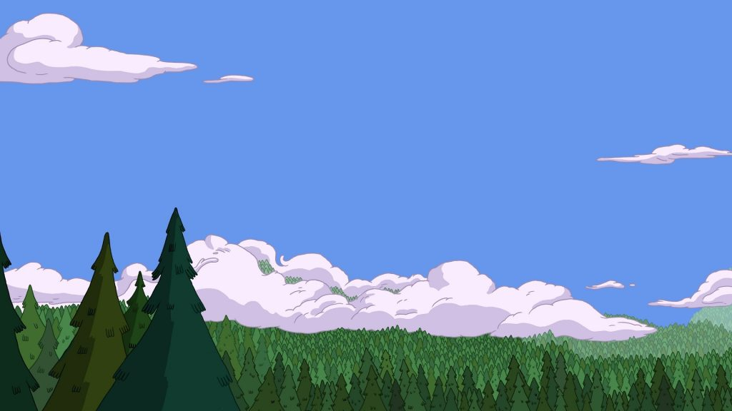 Adventure Time Full HD Background