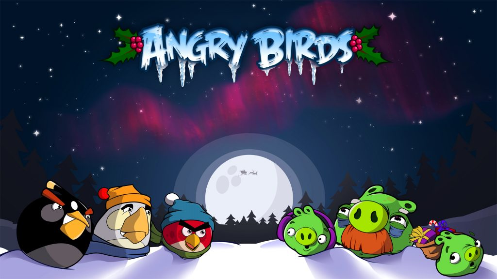 Angry Birds Full HD Wallpaper