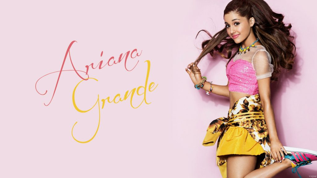Ariana Grande Full HD Background