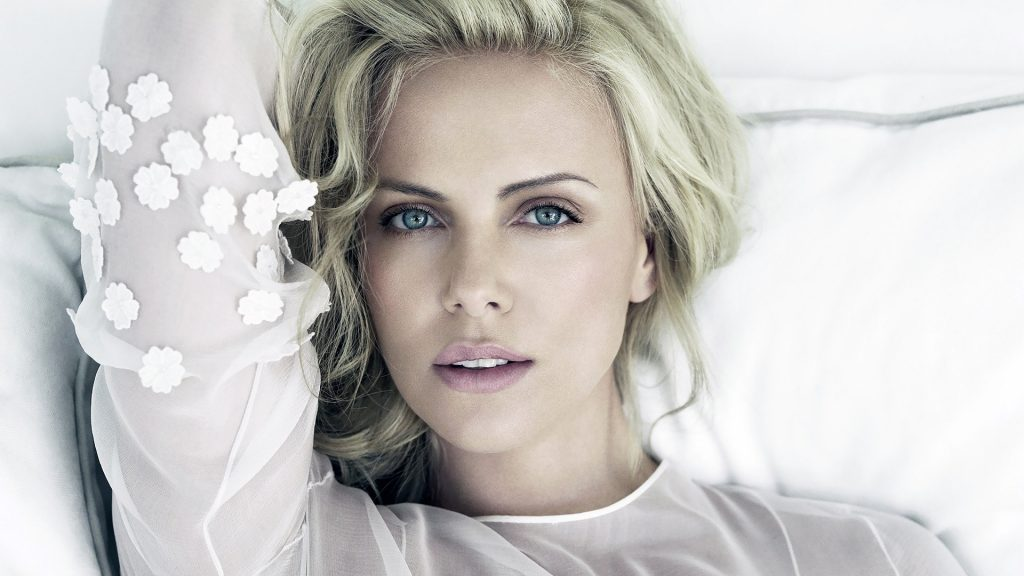 Charlize Theron Full HD Background