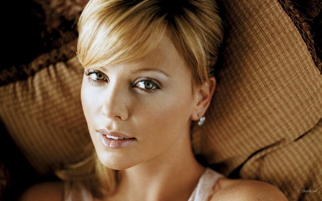 Charlize Theron Widescreen Background