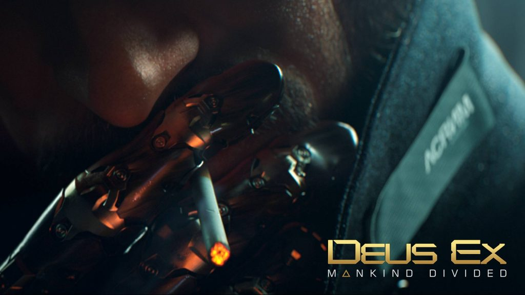 Deus Ex: Mankind Divided Full HD Background