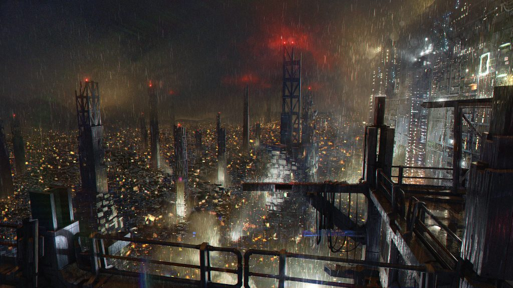 Deus Ex: Mankind Divided 4K UHD Background