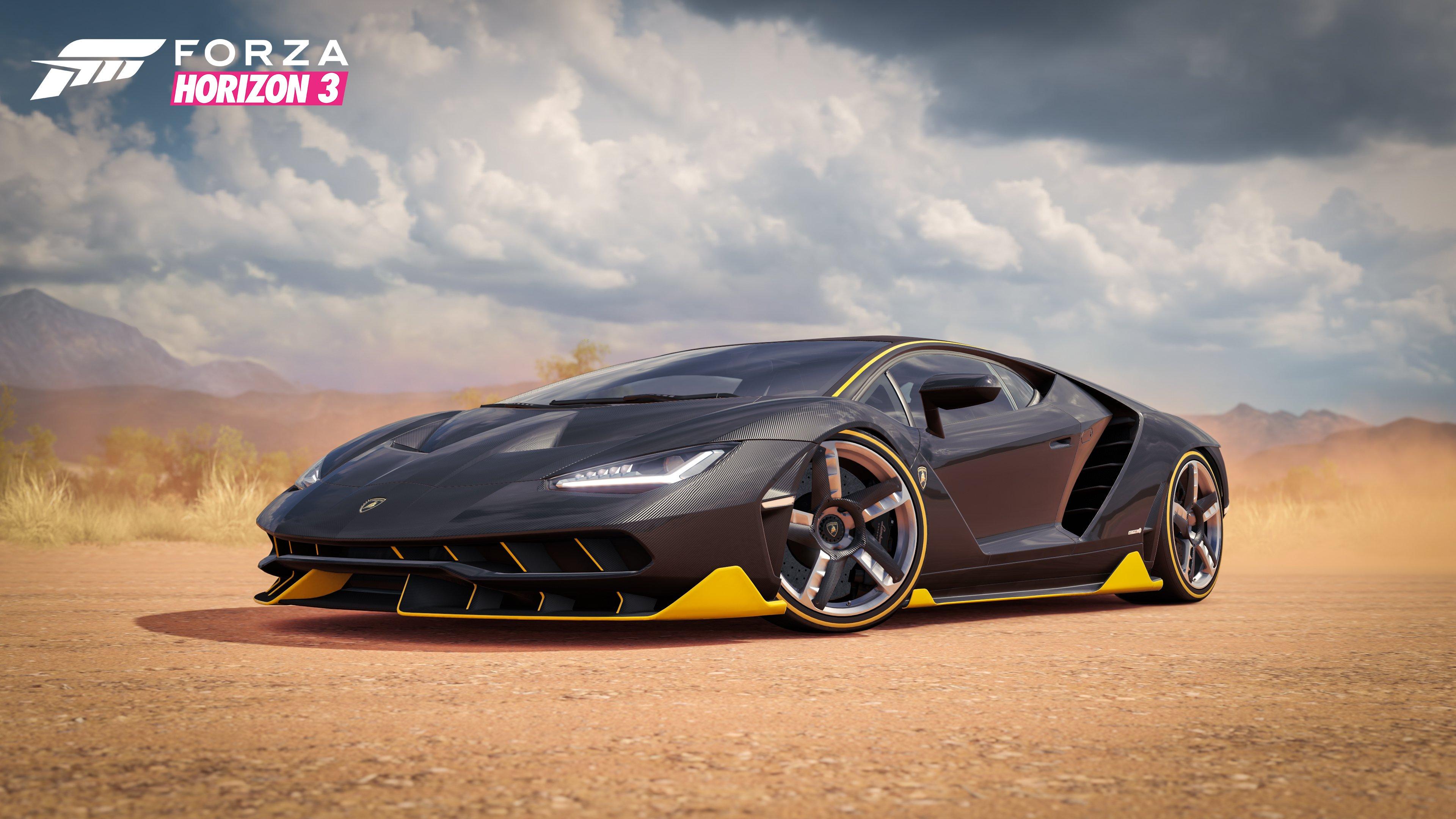 Forza Horizon 3 4K UHD Wallpaper