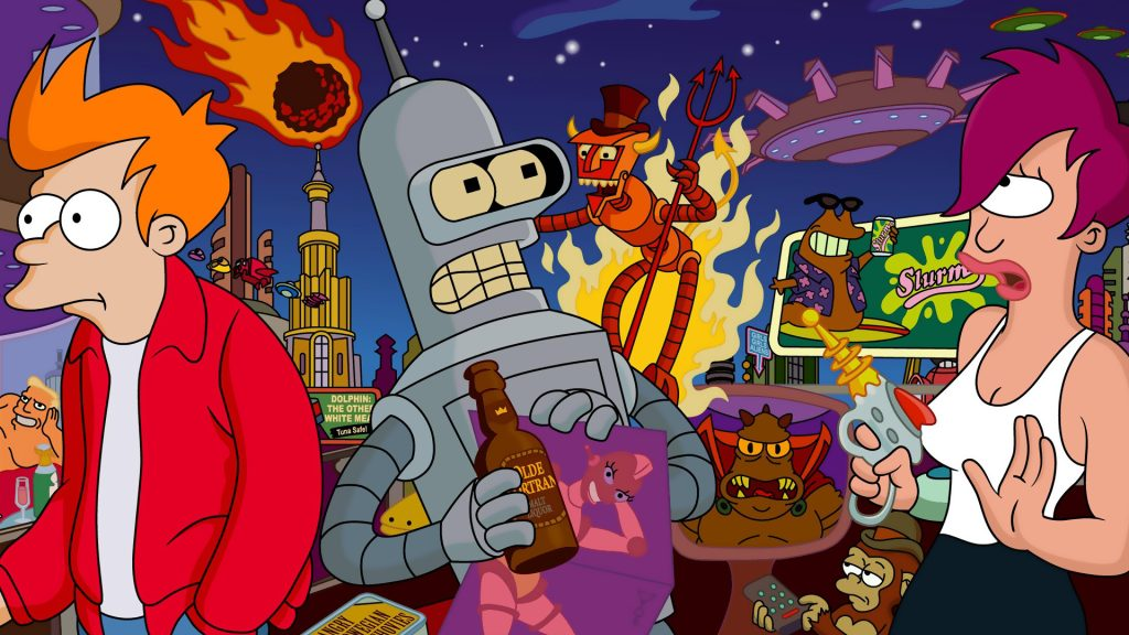 Futurama HD Full HD Wallpaper