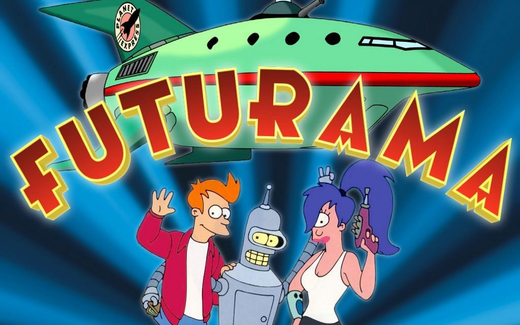 Futurama HD Widescreen Wallpaper