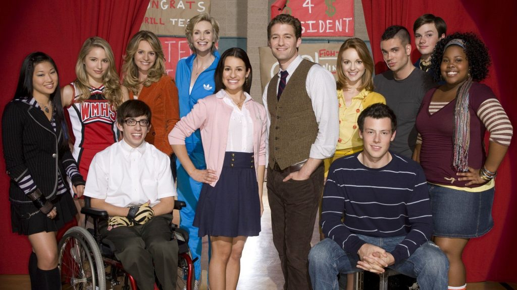 Glee Full HD Wallpaper