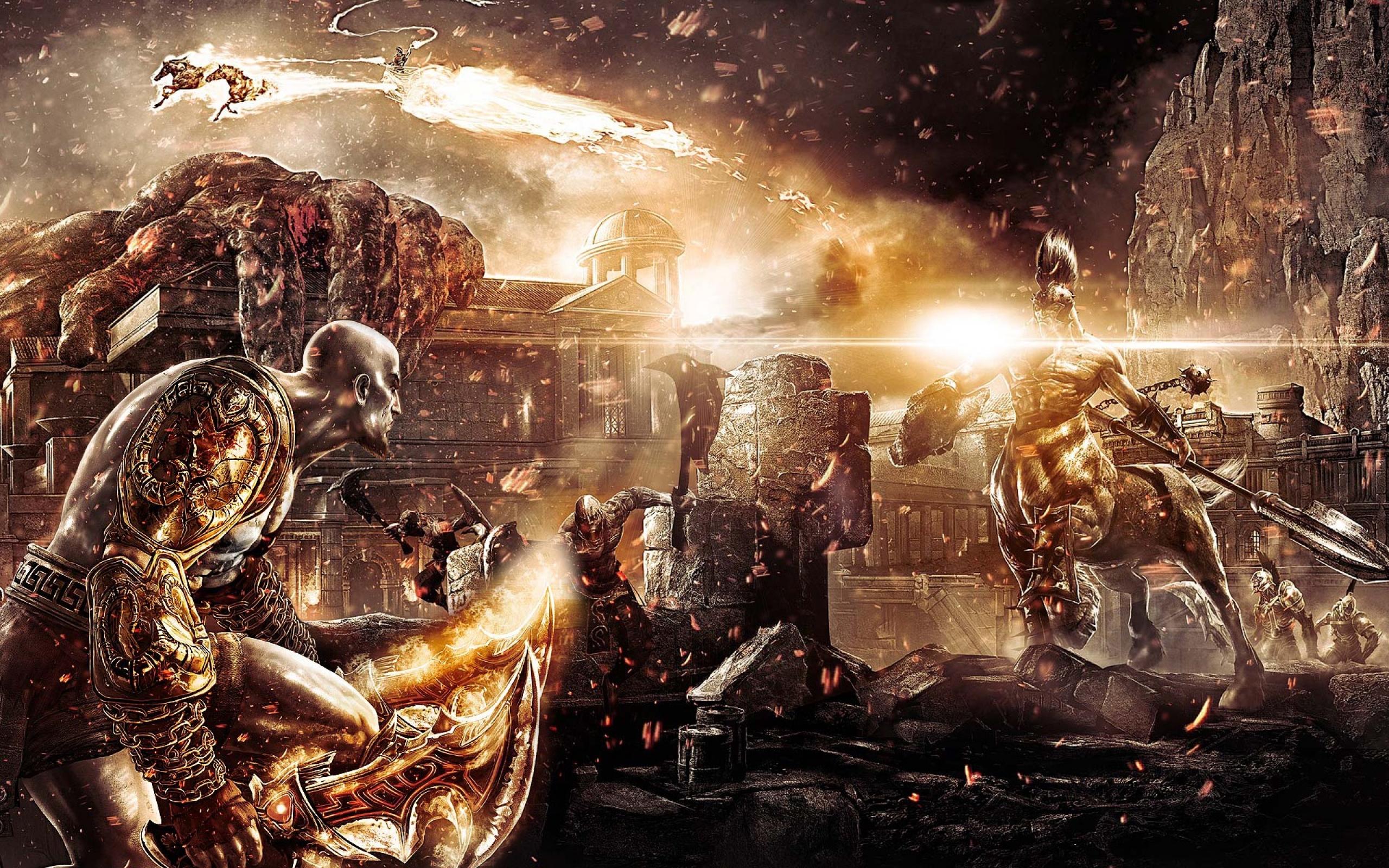 God Of War III Widescreen Wallpaper